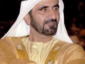 Sheikh Mohammed bin Rashid Al Maktoum, Prime Minister and Vice President of UAE