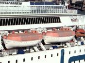 Lifeboats of FS Scandinavia (Polferries)