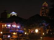 English: Nighttime in Sandton, Johannesburg, South Africa