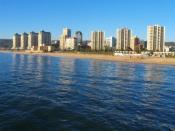 Vista de la costa, Viña del Mar, Chile