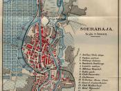 Map of Surabaya from an 1897 English travel guide