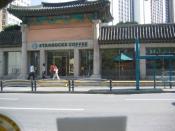 South Korean Starbucks.