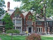 English: Charles T Fisher House Boston Edison Detroit