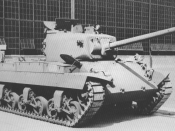 T20 medium tank, Pilot #1, after completion at the Fisher Body Division of General Motors