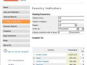 Ranking de países en el portal SCImago Journal & Country Rank