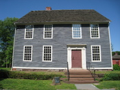 Silas Deane House, Wethersfield, Connecticut, USA. Built circa 1770.