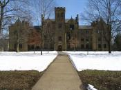 English: The Ascension Hall at the Kenyon College