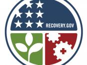 English: Recovery Accountability and Transparency Board Logo.