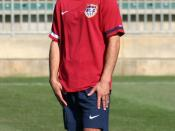 Landon Donovan, during USMNT practice