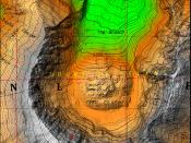 Screenshot of Mount Saint Helens Cartographic View