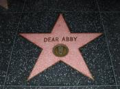 English: Dear Abby star on the Hollywood Walk of Fame.
