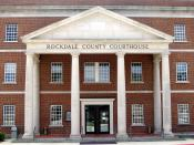 Rockdale County Courthouse in Conyers, Georgia. Photo taken by Steve Karg