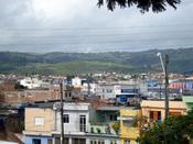 English: View over Vitória de Santo Antão village, Pernambuco, Brazil
