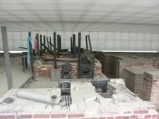 English: Sachsenhausen Crematorium