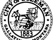 Official seal of Bozeman, Montana