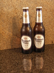English: Windhoek Light Beer produced by Namibia Breweries Limited