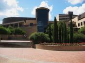 English: LBJ Student Center at Texas State.