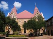 English: Old Main at Texas State University.