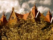 English: A stunning view of Old Main at Texas State University - San Marcos.