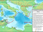 English: Map of the operations of the Vandalic War in 533-534, including the rebellions on Tripolitania and Sardinia. Topography taken from from DEMIS Mapserver, which are public domain, other wise self-made. Sources: The History of the Wars by Procopius
