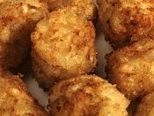 English: These are what tater tots look like.
