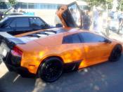 English: A Lamborghini Murcielago SuperVeloce in Irvine CA