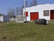 English: View of the Coal Miners Museum in Novinger, Missouri USA.