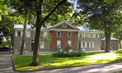 English: House of Stephen Girard in Stephen Girard Park, Philadelphia Girard was a revolutionary era financier, also involved with the 1st and 2nd Banks of the United States.