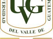 English: Logo of Universidad del Valle de Guatemala