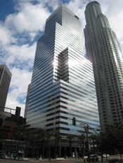 English: Citi Group Center building in downtown Los Angeles, California