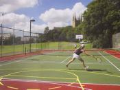 English: Tennis courts, . author: John Polding