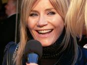 English: Michelle Collins at premier of Miss Potter in 2006.