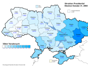 English: Ukrainian Presidential Election October 2004 - Viktor Yanukovych (Second Round)