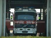 Volvo fire engine of the