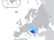 English: Status of Serbian language. Official in Serbia, Bosnia and Herzegovina, Montenegro and Athos; and recognized as minority language in Croatia, Hungary, FYR Macedonia and Romania.