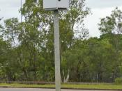 Red light and speed camera located in Darwin, Northern Territory