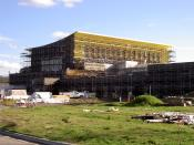 English: Green Music Center at Sonoma State University under construction Licensing: Category:Images of California