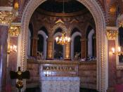 English: St Christopher's Chapel, Great Ormond Street Hospital, Great Ormond Street, London WC1
