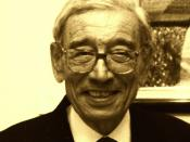 English: Boutros Boutros Ghali at Naela Chohan's art exhibition for the International Women's Day at UNESCO in Paris (2002)