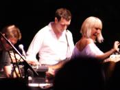 Sia Furler and Zero 7 in concert.