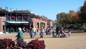 English: Main mall of Lincoln Park Zoo