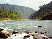 English: Ravi River, near Chamba.