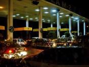 English: Ravi Toll Plaza, before Ravi River bridge, in Lahore.