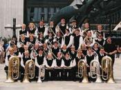 Sveio School band at the Norwegian Championship in 2002