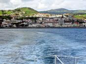 Bom tempo no canal (Horta, Açores)