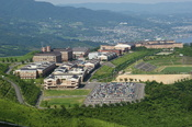 Ritsumeikan Asia Pacific University.(Beppu City, Oita Prefecture, Japan)