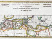 1780 Raynal and Bonne Map of the Barbary Coast of Northern Africa - Geographicus - AfriqueBarbarie-bonne-1780