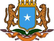 Coat of Arms of Somalia Deutsch: Staatswappen von Somalia Svenska: Somalias riksvapen Azərbaycan: Somalinin dövlət gerbi