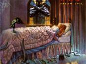 Murray in the bedroom window on the cover of Dream Evil