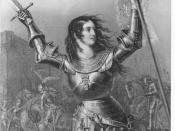Jeanne d'Arc Par P.A. Le Brun de Charmettes (Orléanide-1817)